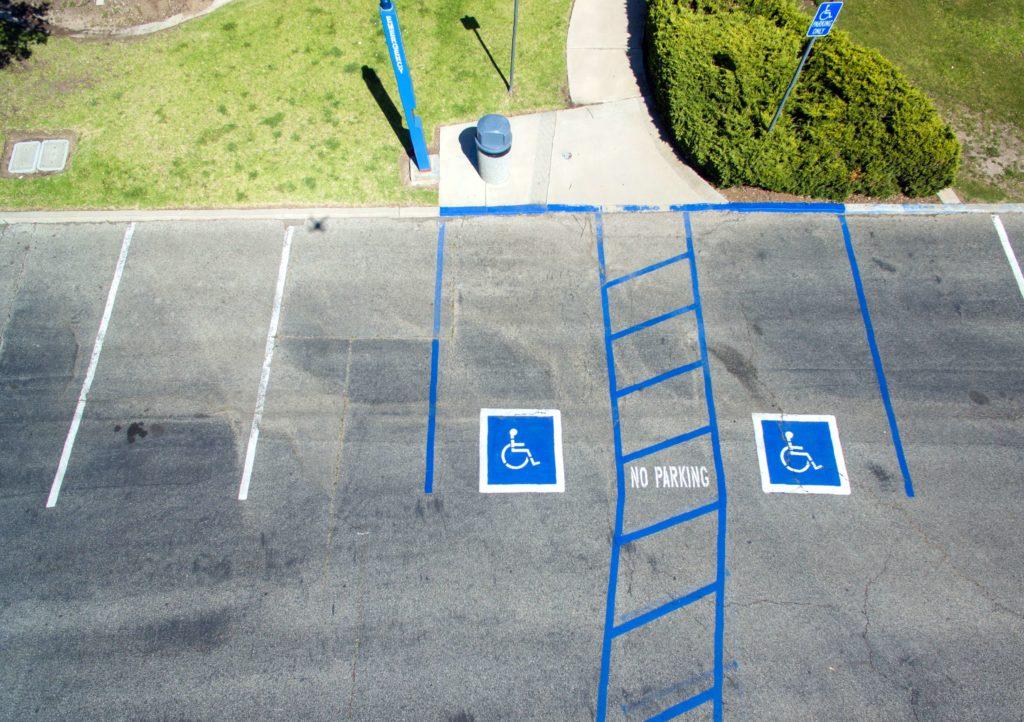 Karta parkingowa dla osób niepełnosprawnych